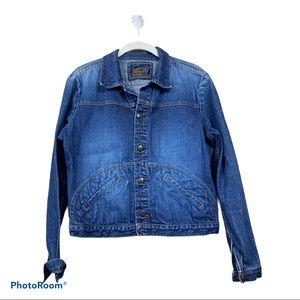 Marithe Francios girbaud denim Jean jacket Spring